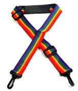 Rainbow Camera or Gym Bag Strap