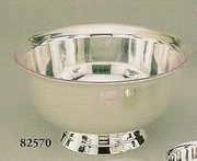 Silverplated Paul Revere Bowl with Liner 10""