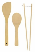 Sir Fry Tool Set Bamboo  3pc