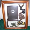 Sportsman's Glen Shadowbox Frames  Hunting or Fishing Theme