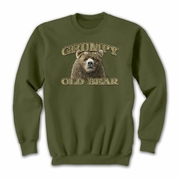 Sweatshirt  Grumpy Old Bear