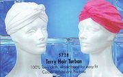 Terry Hair Turban