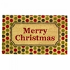 Welcome Mat / Doormat Christmas Polka Dot