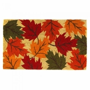 Welcome Mat / Doormat Falling Leaves Autumn