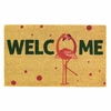 Welcome Mat / Doormat  Flamingo Fun
