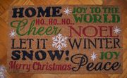 Welcome Mat Holiday Cheer 18 in x 30 in.