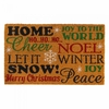 Welcome Mat / Doormat  Holiday Cheer