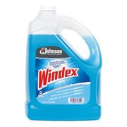 Windex Glass Cleaner with Ammonia-D, 1gal Bottle, 4/Carton FREE SHIPPING
