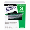 Ziploc  Commercial Resealable Bags Sandwich Storage 500/box  FREE SHIPPING