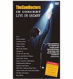 SAW DOCTORS -LIVE IN GALWAY DVD