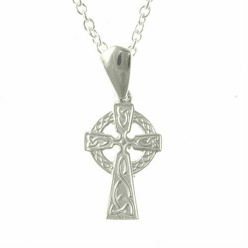 Sterling Silver Celtic Cross, Small