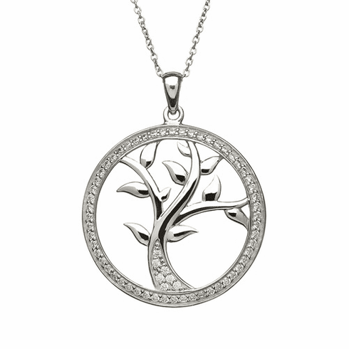 Tree of Life Pendant Sterling Silver
