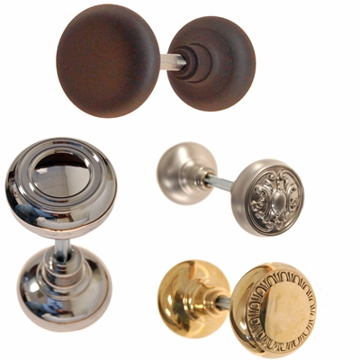 Brass Door Knobs in a Variety of Finishes & Styles