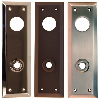 "Door Trim Plate<BR>2.5""x8""<BR>5 Finishes"