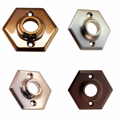 Hexagon Doorknob Rosette