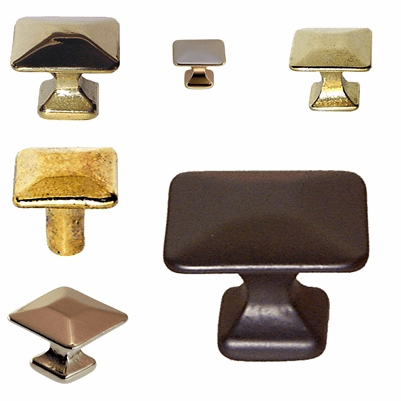 Simple Square Knobs