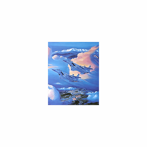"""1996 Official Class Print """"Dawn's Early Light"""""""