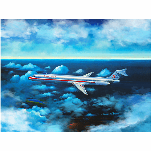 "American Airlines MD-83 ""End of an Era"" By Rick Broome"
