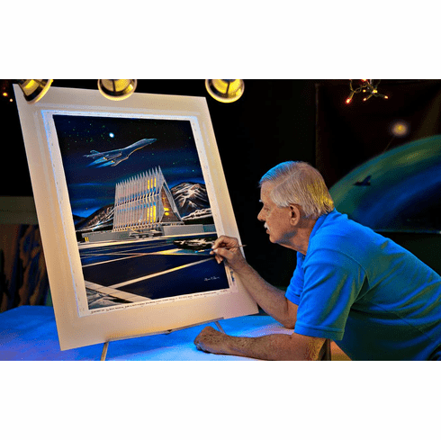 Available USAFA Class Prints & Commemorative works of Art By Rick Broome