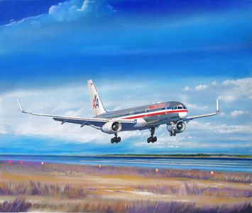 Commercial Aviation Artwork