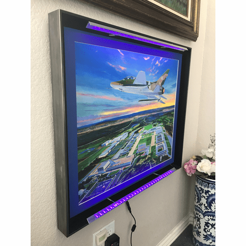 Custom Starlite Frame: UV LED Floating Frame