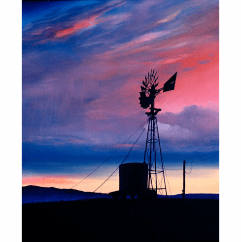 Old Colorado Windmill 12x16 canvas edition
