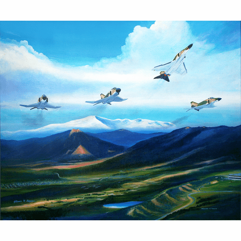 Phantoms in Tribute Canvas 19x24 24th Sq. Hand Retouched Edition ONLY 24 AVAILABLE $975.00
