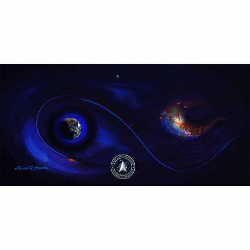 Space Force Official Painting: Forthcoming
