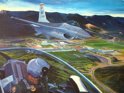 Air Force Academy Artwork By Richard Broome