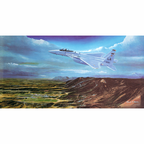 """USAFA 1981 """"Second to None"""" Official Class Print"""