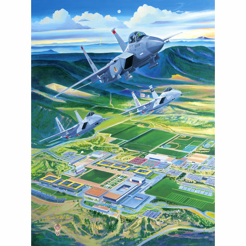 "USAFA 2003 Class Print ""The Strong & the Mighty"""