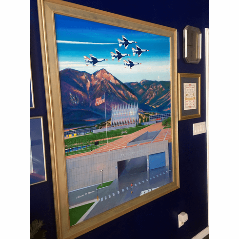 USAFA 2005 Original Painting on Linen