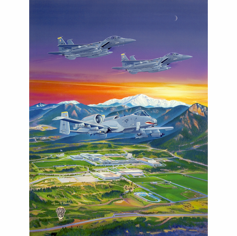 USAFA 2007 Canvas Only