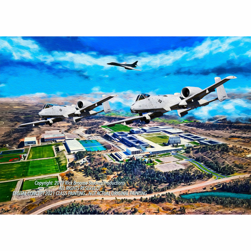 USAFA 2021 Class Painting: Unframed Editions: Deposit Only