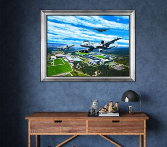 USAFA 2021 Class Painting: Framed Editions