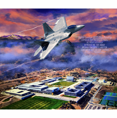 USAFA 2022 Official Class Painting: DEPOSIT ONLY!!