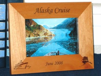 Personalized Vacation Picture Frames