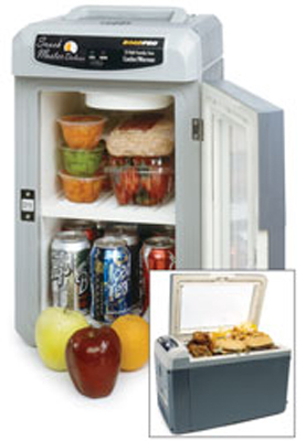 Image of 12-Volt 18 Qt. Deluxe Family Size Cooler & Warmer