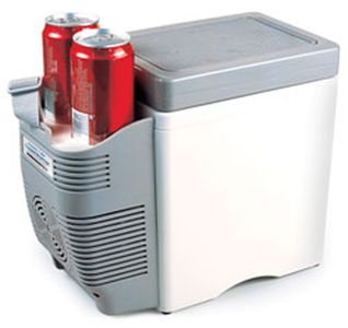 12 Volt 7 Liter Cooler & Warmer with Cup Holders
