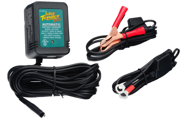 12 Volt Battery Tender Junior Battery Charger (.75 Amps)