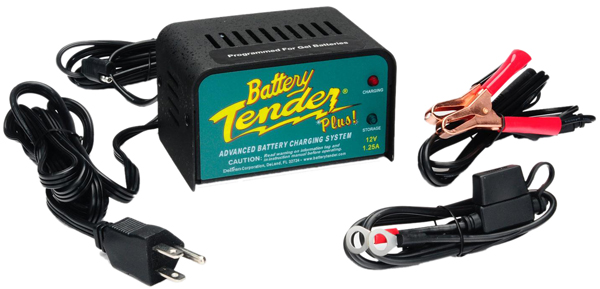 Image of 12 Volt Battery Tender Plus Battery Charger (1.25 Amps)
