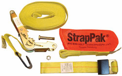 "2"" x 27' Ratchet Strap with Wide Handle & StrapPak™"