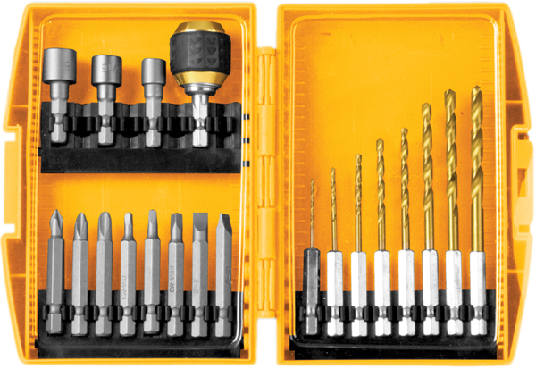 Image of 20 Piece Quick Change Drill & Drive Bit Set