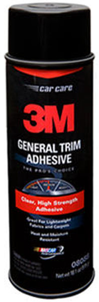 Image of 3M Aerosol General Trim Adhesive Clear (18.1 oz.)