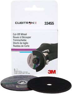"3M Cubitron II Cut-Off Wheel (3"" x 0.0625"" x 3/8"")"