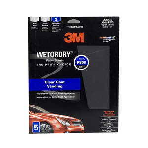 3M Imperial Wet or Dry Paper Sheets