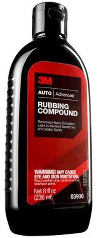 Image of 3M Auto Advanced Rubbing Compound (16 oz)