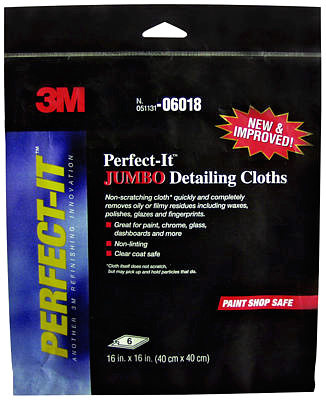Image of 3M Perfect-It Jumbo Detailing Cloths (6 Pack)