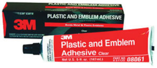 Image of 3M Plastic and Emblem Adhesive Clear - 5 oz. Tube