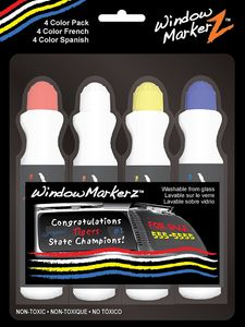 Window Markerz 4 Color Pack